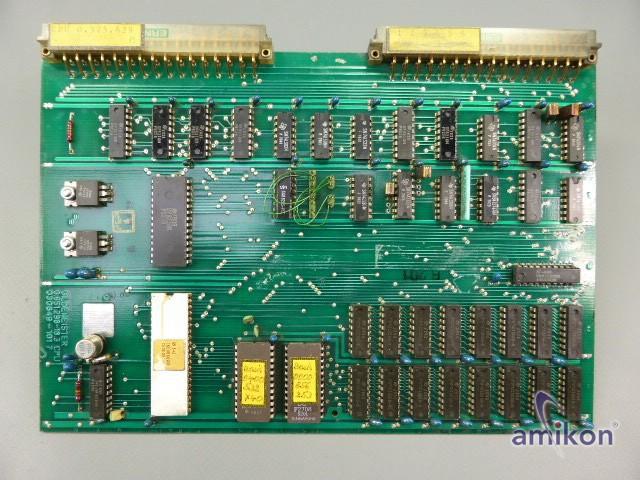 Gildemeister Platine 0.651.298-18.3 CPU
