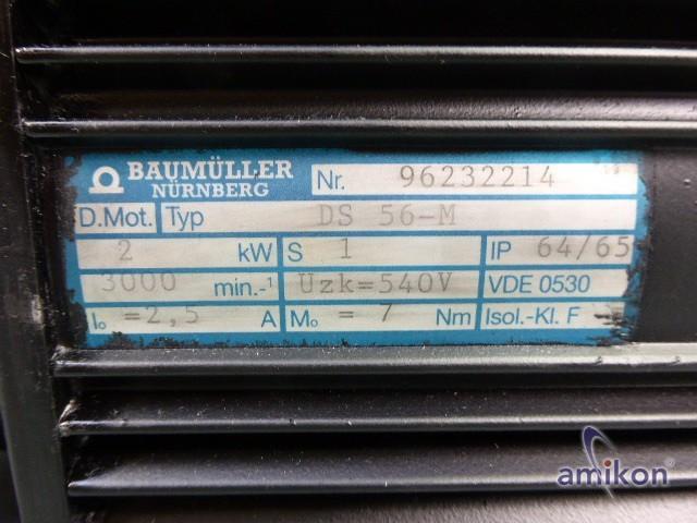 Baumüller Drehstromotor DS 56-M DS56 M neuwertig !  Hover