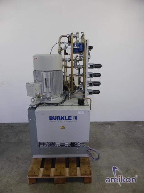 Bürkle Hydraulikzentrale mit ADDA Motor Top !