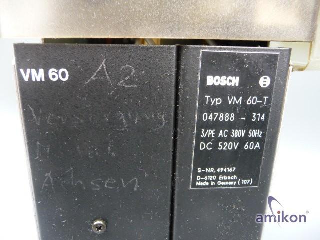 Bosch Versorgungs Modul VM 60-T Nr. 047888-314  Hover