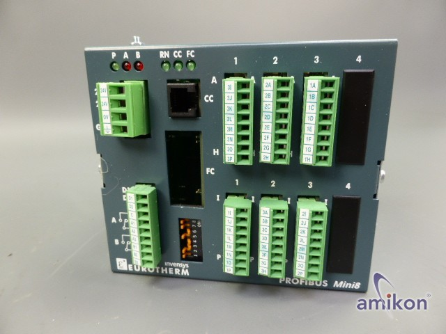 Eurotherm Invensys Profibus Mini8 Mehrkanal-PID-Regler  Hover