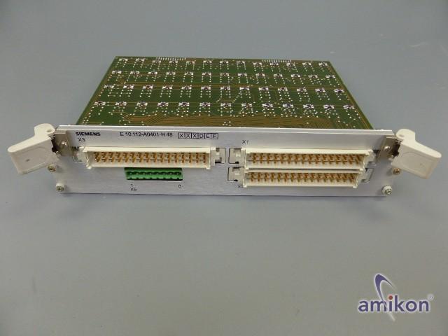 Siemens Simadyn Prozessormodul E10 112-A0401-H48