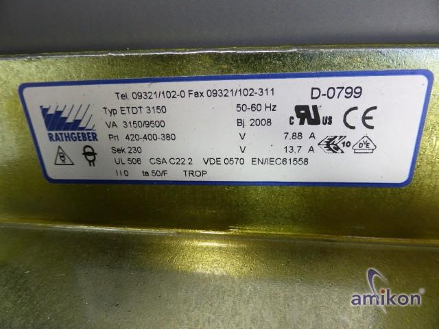 Rathgeber Drossel ETDT 3150  Hover