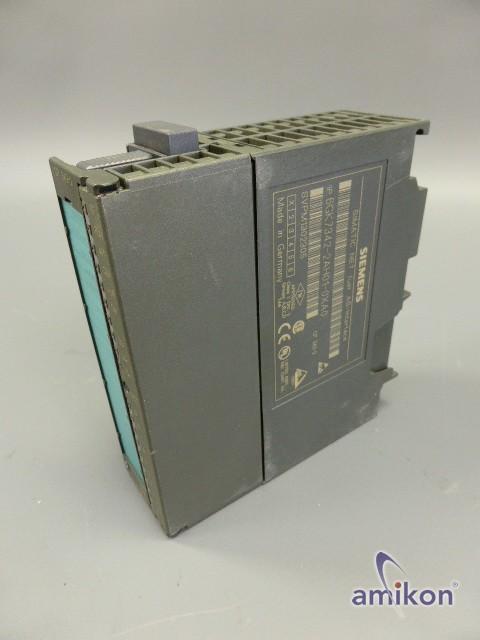 Siemens Simatic S7 Kommunikationsprozessor 6GK7342-2AH01-0XA0
