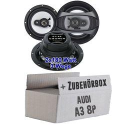 Crunch GTi62 - 16cm Triaxsystem für Audi A3 8P - JUST SOUND best choice for caraudio