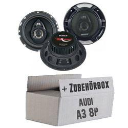 Audi A3 8P - Renegade RX 6.2 - 16cm Koax-System