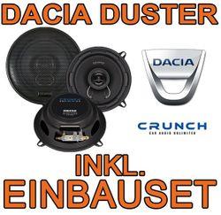 13cm Koax-System für Dacia Duster Crunch DSX 52 - JUST SOUND best choice for caraudio