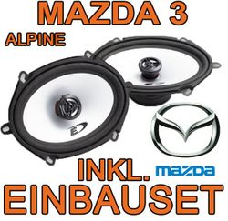 Alpine SXE-5725S - 5x7 Koax-System für Mazda 3 - JUST SOUND best choice for caraudio