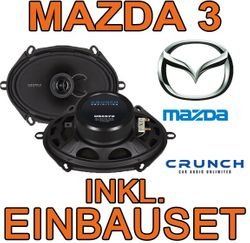 Crunch DSX572 - 5x7 Koax-System für Mazda 3 - JUST SOUND best choice for caraudio