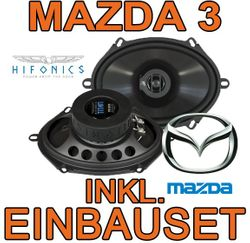 Hifonics Titan TS 572 - 5x7 Koax-System für Mazda 3 - JUST SOUND best choice for caraudio