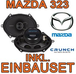 Crunch DSX572 - 5x7 Koax-System für Mazda 323 - JUST SOUND best choice for caraudio