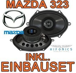Hifonics Titan TS 572 - 5x7 Koax-System für Mazda 323 - JUST SOUND best choice for caraudio