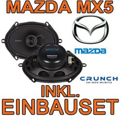Crunch DSX572 - 5x7 Koax-System für Mazda MX5 NB - JUST SOUND best choice for caraudio