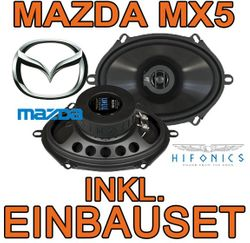 Hifonics Titan TS 572 - 5x7 Koax-System für Mazda MX5 NB - JUST SOUND best choice for caraudio