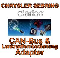 Chrysler Sebring Clarion CAN Bus & Lenkradinterfaceadapter