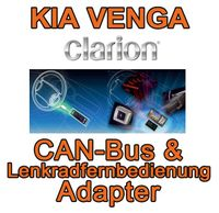 Kia Venga Clarion CAN Bus & Lenkradinterfaceadapter