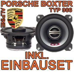 Porsche Boxter 987 - Lautsprecher - Alpine SXE-10C2 - 10cm Koaxsystem