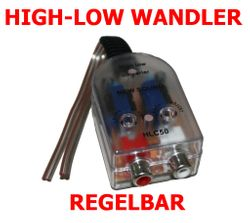 High-Low Adapter 2-Kanal - HLC50