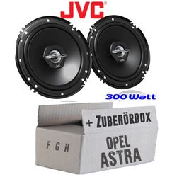 Lautsprecher - JVC CS-J620 - 16cm Koaxe für Opel Astra F,G,H - JUST SOUND best choice for caraudio