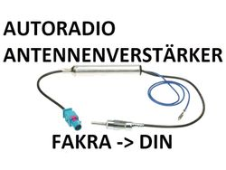 Phantom Antennenadapter Fakra-DIN