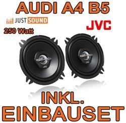 Audi A4 B5 - JVC CS-J520 - 13cm Lautsprecher Einbauset