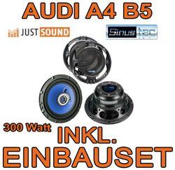 Lautsprecher - Sinustec ST 165c - 16cm Einbauset für Audi A4 B5 Avant - JUST SOUND best choice for caraudio