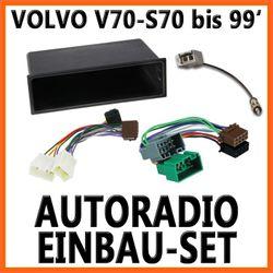Volvo S70  V70 bis 12/1999 Unviersal DIN Autoradio Einbauset