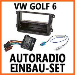 VW Golf 6 , Jetta, Plus - Unviersal DIN Autoradio Einbauset