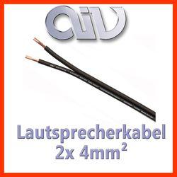 AIV Connect Cosmic - 4mm2 OFC Lautsprecherkabel