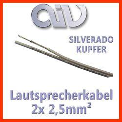 AIV Connect Silverado - 2,5mm2 Kupfer Lautsprecherkabel