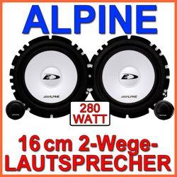 B-Ware Alpine SXE-1750S - 16cm Komposystem B-Ware