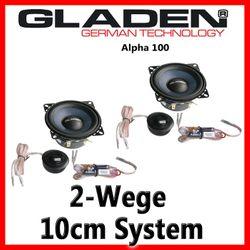Gladen Audio Alpha 100 - 10cm Kompo-System
