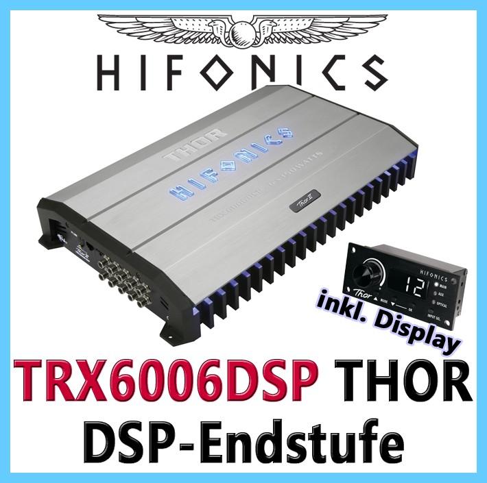 HIFONICS THOR TRX-6006DSP 6-Kanal