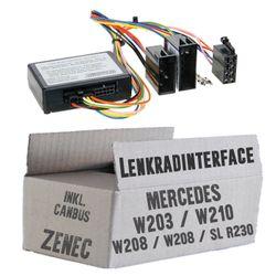 Lenkradfernbedienung Lenkradinterface inkl. CanBus Mercedes > Zenec