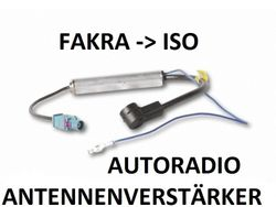 Phantom Antennenadapter Fakra-ISO