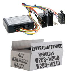 Lenkradfernbedienung Lenkradinterface inkl. CanBus Mercedes > Kenwood