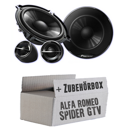 Alfa Romeo Spider + GTV - Pioneer TS-G133Ci - 13cm Lautsprechersystem - Einbauset
