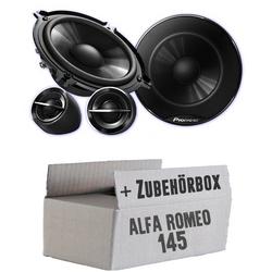 Alfa Romeo 145 - Pioneer TS-G133Ci - 13cm Lautsprechersystem - Einbauset