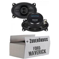 Ford Maverick 1 Front Heck - Crunch DSX462 - 4x6 Koax-System - Einbauset
