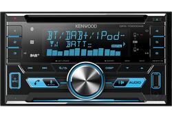 Kenwood DPX-7000DAB - 2DIN Bluetooth DAB+ Digitalradio USB CD MP3 Autoradio inkl. DAB Antenne