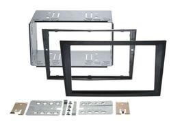 Radioblende 2-DIN Opel Corsa C | Meriva A | Combo | Farbe charcoal