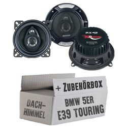 BMW 5er E39 Touring Dachhimmel - Renegade RX-42 - 10cm Koax-System Lautsprecher - Einbauset