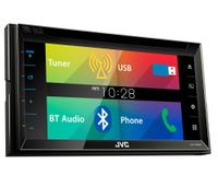 JVC KW-V320BTE - CD DVD Bluetooth MP3 USB 6,8-Zoll Display Autoradio