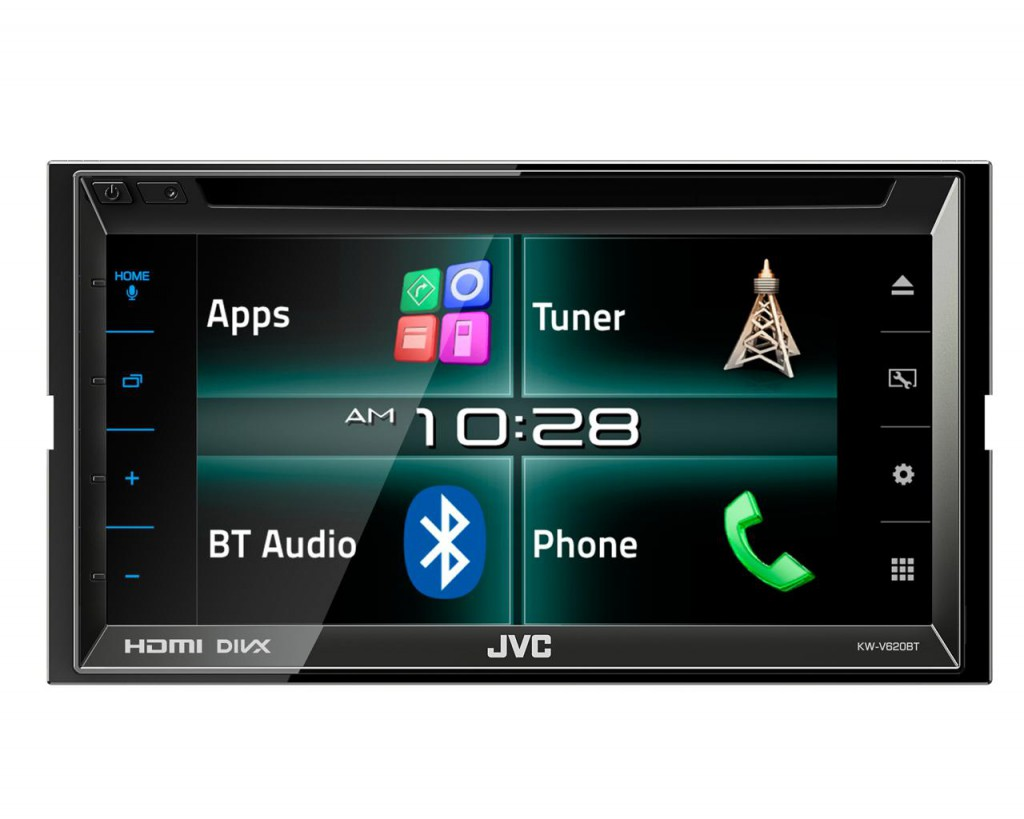 KW-V620BTE - HDMI | DVD | Bluetooth | MP3 | USB | 6,8-Zoll Display