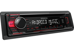 Kenwood KDC-110UR - CD/MP3/USB Android-Steuerung - Autoradio