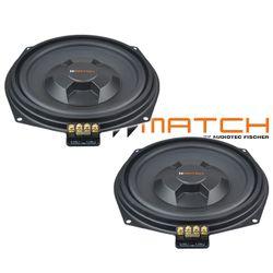 Helix Match MW 8BMW-D   Untersitz Subwoofer   Bass Plug´n´Play   BMW 1er, 2er, 3er, 4er, 5er, 6er, 7er, X1, X3, X4, X5, X6