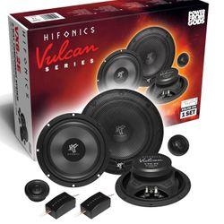 Hifonics Vulcan VX6.2E - 16cm 2-Wege Komponenten Lautsprecher System