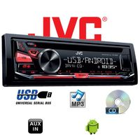 B-Ware K JVC KD-R482E - CD | MP3 | USB | Android | Autoradio