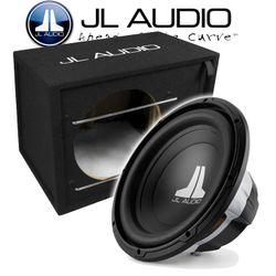 JL Audio 12W0v3-4 + CP112BXE - 30cm Gehäuse Subwoofer mit 12W0v3-4