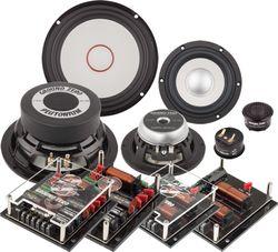 Ground Zero Audio | GZPC 16.3SQ | 16cm 3-Wege Lautsprecher System